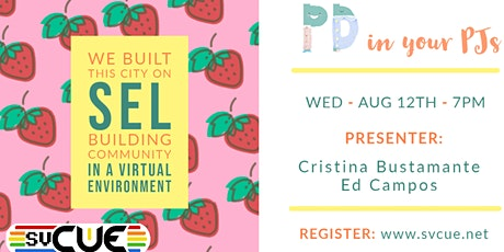 SVCUE - PD in Your PJs - August tickets