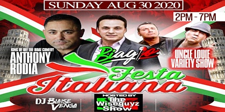 Festa Italiana ft. Biagio, Anthony Rodia, and The Uncle Louie Variety Show tickets