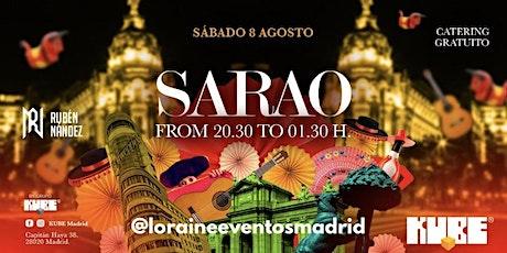 Fiesta SARAO en Kube- Fiesta DJ Rubén Nández/ Catering gratuito entradas