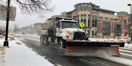 Snow Plowing 101 with the City of Boulder tickets