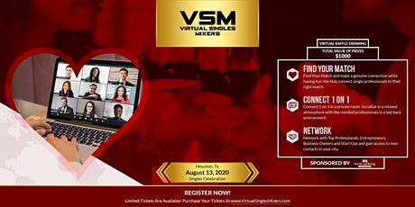 Virtual Singles Mixer 2020 ($1000) Raffle Prizes tickets
