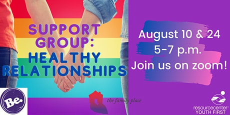 Support Group: Healthy Relationships tickets
