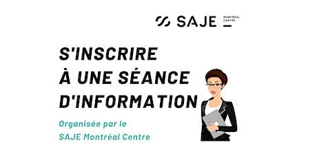 20 août - Séance d'information en français (en ligne) billets