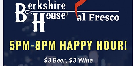 Friday Night @ Berkshire House (Outdoor Patio w/ Food &Drink specials) tickets