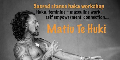 Sacred Stance Haka Workshop - Jam Factory - Tauranga tickets