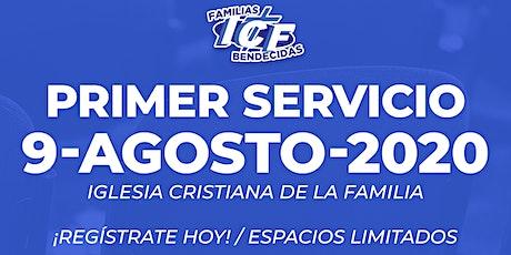 Servicio ICF - 9 de Agosto de 2020  - Primer Servicio - 8AM tickets