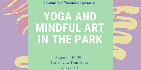 Yoga and Mindful Art in the Park tickets