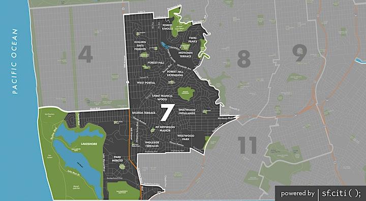 San Francisco Forward: District 7 Supervisor Debate image