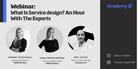What is Service Design? An Hour With the Experts tickets