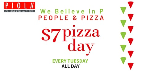 $7 Pizza Day tickets