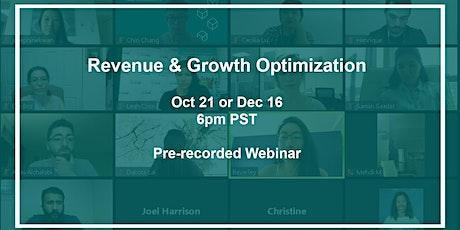 Revenue & Growth Optimization tickets