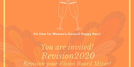 WCR Solano Virtual  Happy Hour & RE-Vision Board tickets