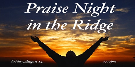 Praise Night 2020 tickets