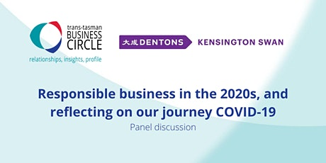 Responsible business in the 2020s, and reflecting on our journey COVID-19 tickets
