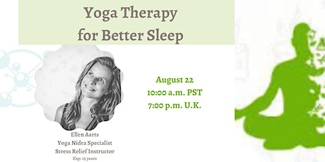 Therapeutic Effect of Yoga Nidra for Sleep and Stress tickets