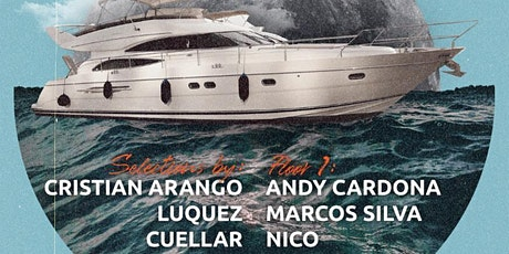 House Midnight Yacht Party at Liberty Landing Marina Cabana Yacht tickets