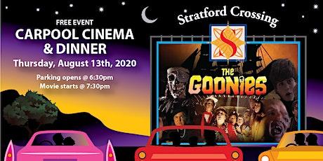 Carpool Cinema & Dinner at Stratford Crossing tickets