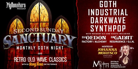 Second Sunday Sanctuary at Myth Nightclub | 09.13.20 tickets