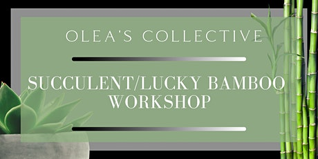 Succulent/Lucky Bamboo Workshop tickets