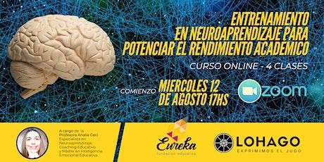 Entrenamiento en Neuroaprendizaje para Potenciar el Rendimiento Académico entradas