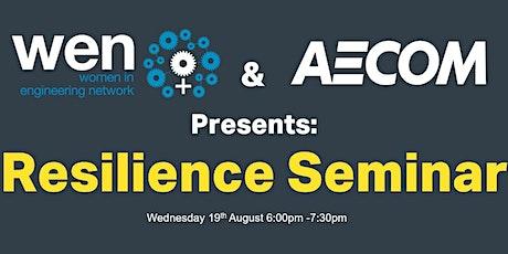 AECOM & WEN Resilience Seminar tickets