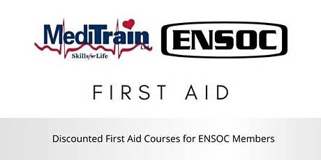 Meditrain First Aid Courses Public · Hosted by ENSOC tickets
