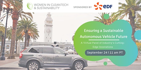 Women in Cleantech: Ensuring a Sustainable Autonomous Future tickets