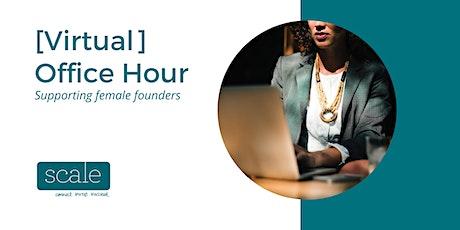 Scale Investors Entrepreneur Virtual Office Hours  - 21st September 2020 tickets