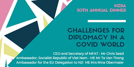 Challenges for diplomacy in a Covid world tickets