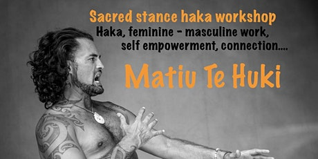 Sacred Stance Haka Workshop - Muriwai Surf Club tickets