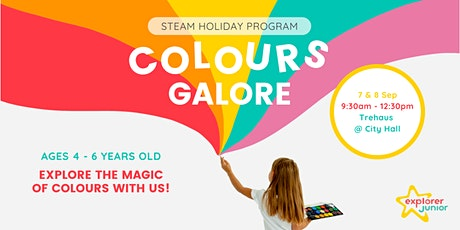 STEAM Holiday Program: Colours Galore! tickets