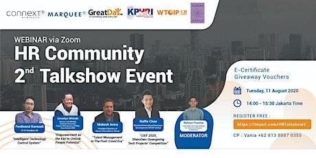 HR Community 2nd Talkshow Event tickets