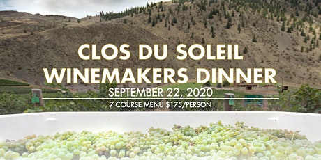 Clos du Soleil Winemakers Dinner tickets