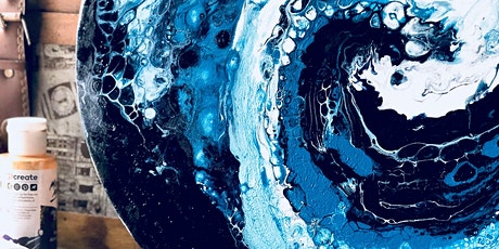 Ocean Theme Acrylic pour tickets