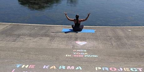 30 min Guided Meditation-Beginner Friendly #TheKarmaProject #YogainthePark tickets