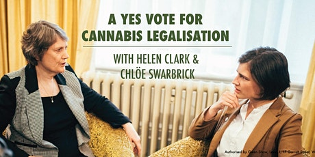 A Yes Vote for Cannabis Legalisation: Helen Clark & Chlöe Swarbrick tickets