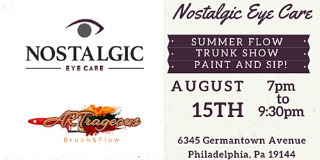 Summer Flow Trunk Show Paint and Sip tickets