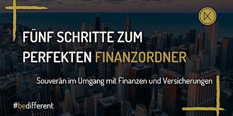 Fünf Schritte zum perfekten Finanzordner Tickets