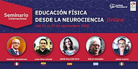 Seminario Internacional Educación Física desde la Neurociencia entradas