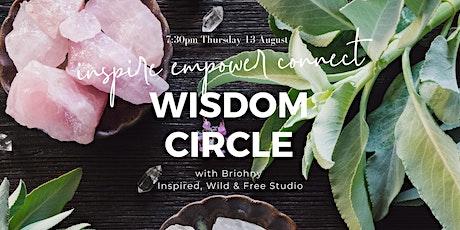 Wisdom Circle with Briohny tickets