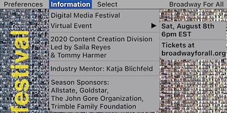 BFA Digital Media Festival 2020 tickets