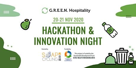 G.R.E.E.N. Hospitality Hackathon & Innovation Nigh tickets
