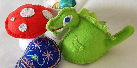 School Holiday Sewing - Pincushion tickets