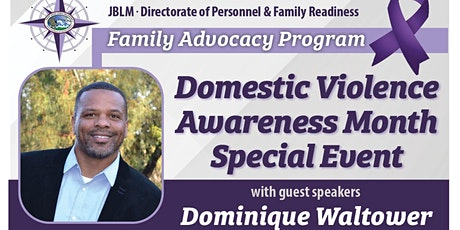 JBLM Domestic Violence Awareness Month Special Event tickets