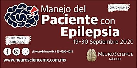 """""""Manejo del paciente con epilepsia"""" boletos"""
