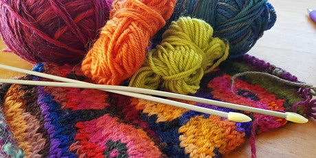School Holiday Stitching - Learn to Knit tickets