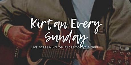 Sunday Kirtan - Live Streaming tickets