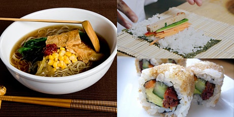 BELOVED JAPANESE (INTENSIVE) - RAMEN + SUSHI COOKING CLASS tickets