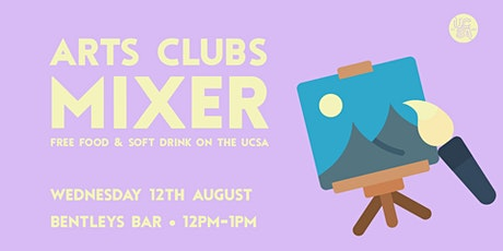 UCSA Arts Clubs Mixer tickets