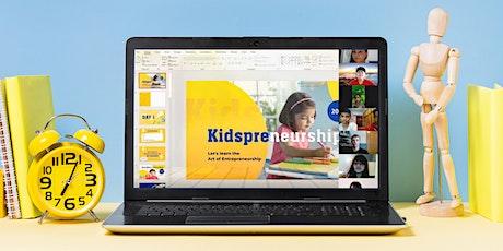 Entrepreneurship for Kids  (Online Camp) tickets